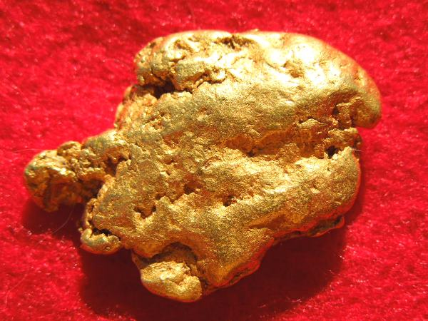 Rare Natural Gold Nugget from Costa Rica