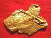 Flat Jewelry Grade Natural Gold Nugget