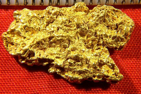 Spectacular Natural Gold Nugget - Perfect For A Pendant