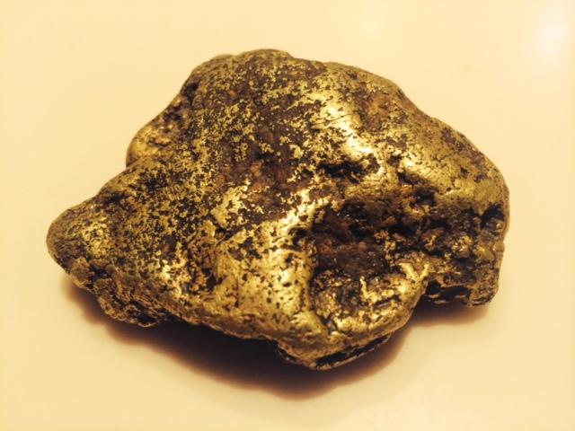 11 Troy Ounce Alaskan Gold Nugget Gorgeous Shape 0 00