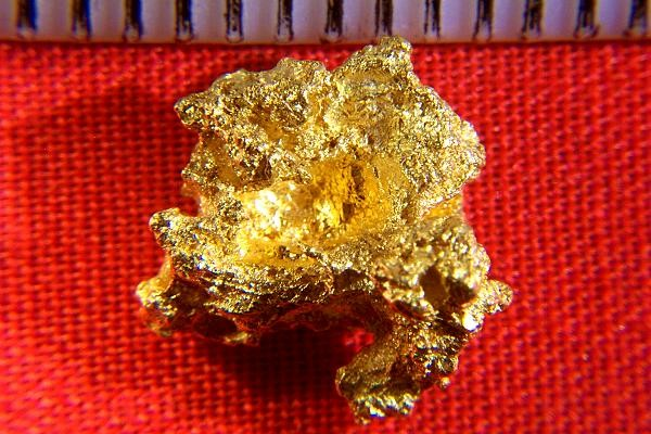 Crystalline Gold Nugget from Palmer River Goldfield - $0 00